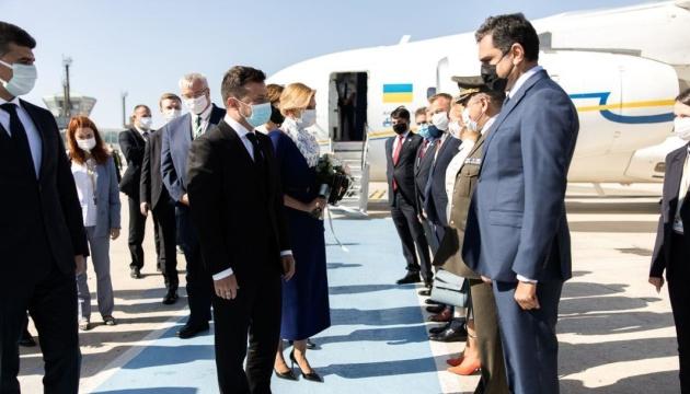 Volodymyr Zelensky effectue une visite de travail en Turquie