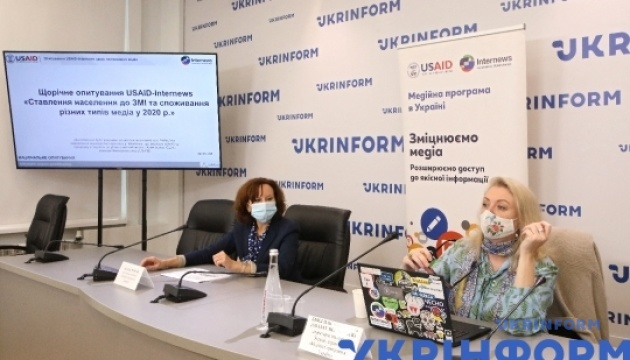 Презентація нового опитування USAID-Internews щодо споживання медіа
