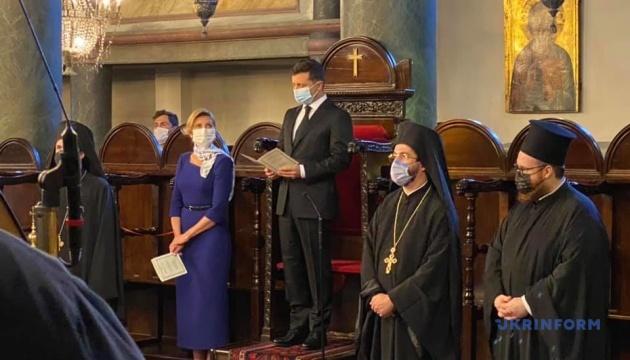 Зеленський у Стамбулі помолився за Україну