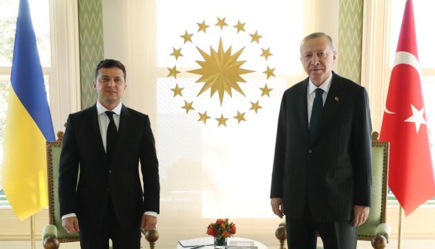 Ердоган готовий брати активну участь у Кримській платформі — Зеленський