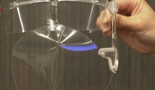 У Японії суперкомп'ютер розробив новий лицьовий щиток проти COVID-19