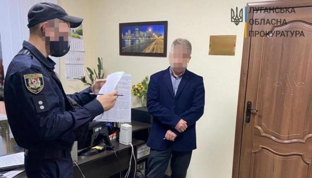 На Луганщині першого віцемера спіймали на хабарі