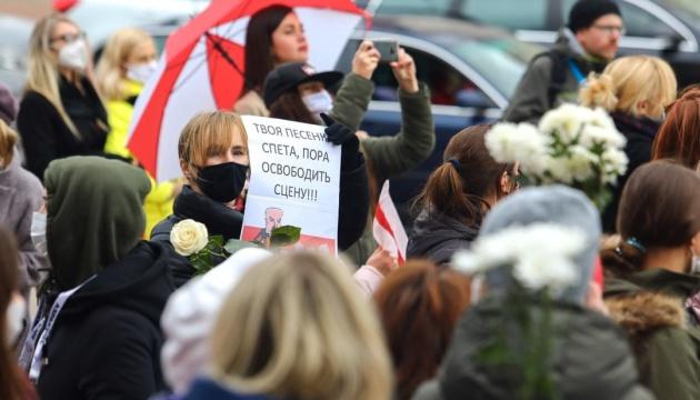 У Мінську почалися затримання на акціях протесту