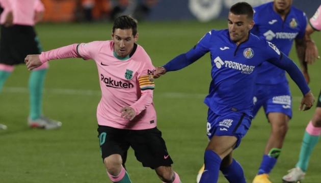 «Барселона» уступила «Хетафе» в матче Ла Лиги
