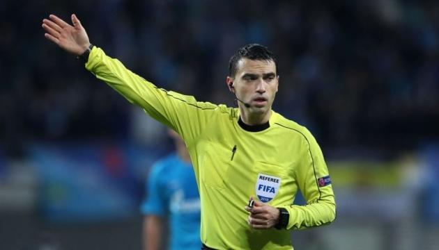 Румунські арбітри розсудять матч