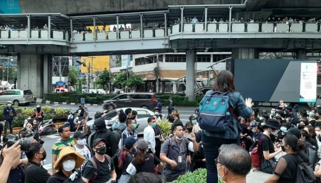 В Таиланде четвертый день подряд продолжаются протесты
