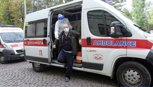 За добу в Україні зафіксували 10 179 випадків COVID-19