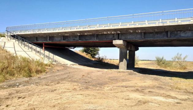 Відремонтували міст, що забезпечує рух між Донецькою та Запорізькою областями