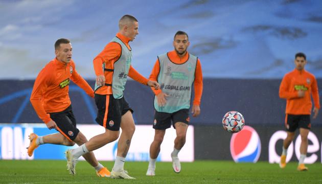 «Шахтер» встречается в Мадриде с «Реалом» в Лиге чемпионов УЕФА