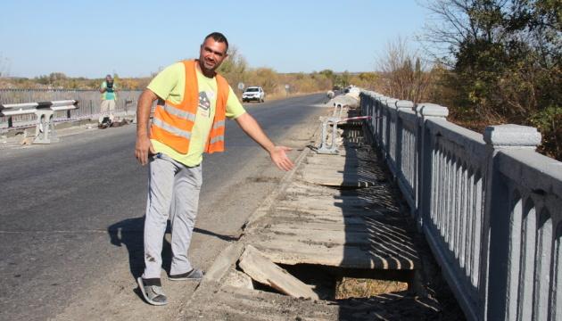 Укравтодор планує відремонтувати 14 мостів на Луганщині