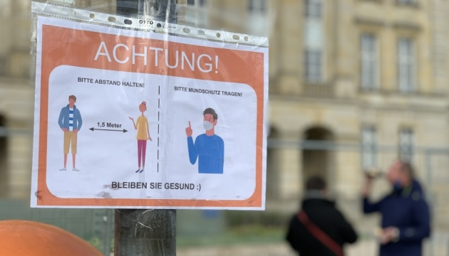 У Німеччині – сплеск COVID-19: майже 11,3 тисячі випадків за добу