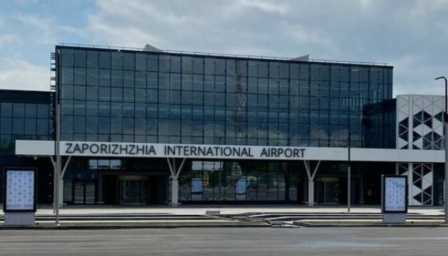 Новий термінал аеропорту «Запоріжжя» прийняв перші рейси