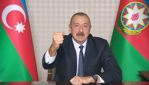 В Карабахе будут размещены российские и турецкие миротворцы - Алиев