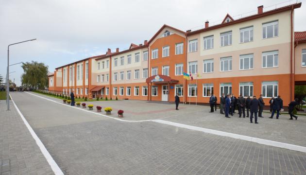 Зеленський відвідав Вербківський навчально-виховний комплекс