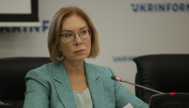Denisova: 226 civilians, 37 servicepersons held captive in occupied Donbas