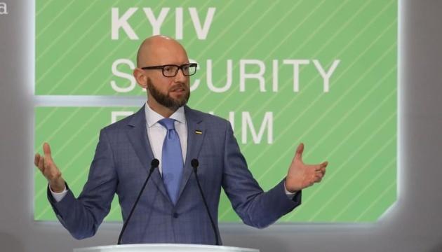 Ukraine can become NATO member with U.S. support - Yatsenyuk