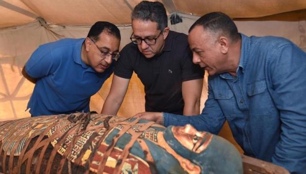 У Єгипті знайшли понад 80 стародавніх саркофагів