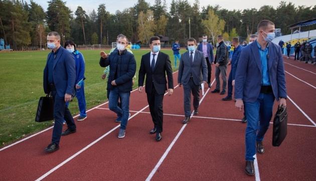 Зеленський відвідав кадетській ліцей на Луганщині