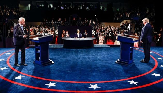 Президентські дебати в США: Україна між Байденом і Трампом