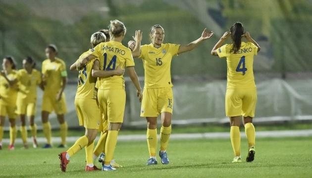 Женская сборная Украины по футболу обыграла Ирландию в отборе Евро-2022