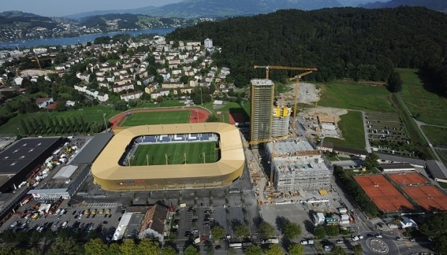 Матч проти України буде для Швейцарії 19-м, зіграним у Люцерні
