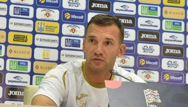 Шевченко объявил расширенный состав сборной Украины по футболу