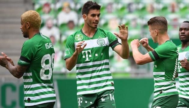 Перед матчем з «Динамо» «Ференцварош» виграв 5 поєдинків чемпіонату Угорщини