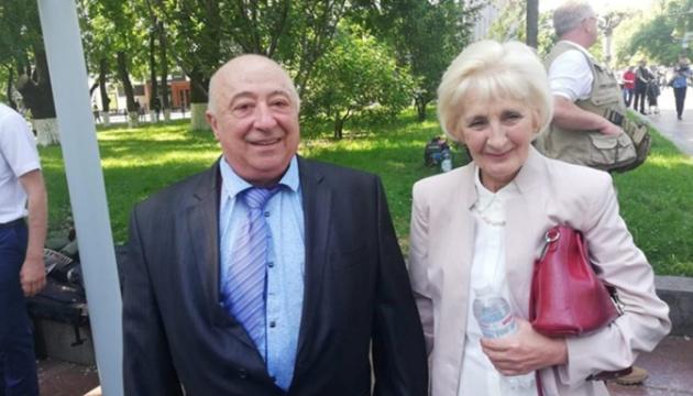 Батьки Зеленського проголосували та відповіли на «5 запитань»