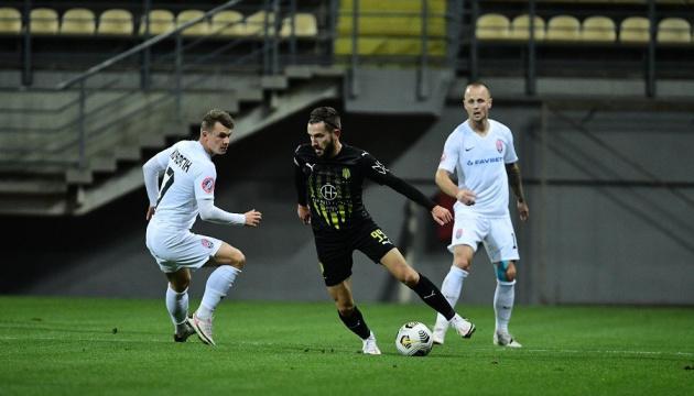 «Заря» разгромила «Движение» в седьмом туре футбольной Премьер-лиги Украины