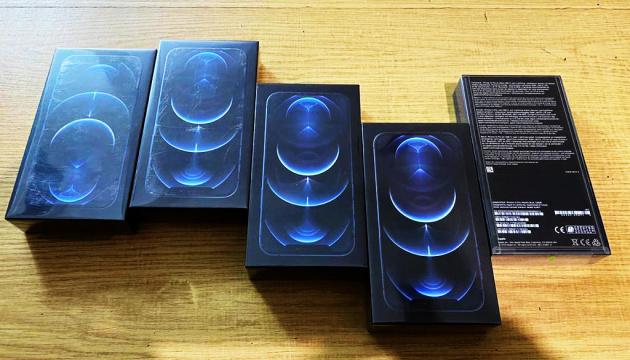 Пограничники сообщили о конфискации первой партии контрабандных iPhone 12