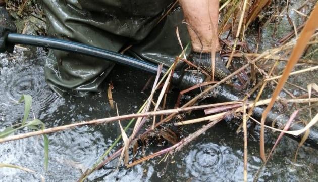 Прикордонники виявили на дні Кучурганського водосховища спиртопровід