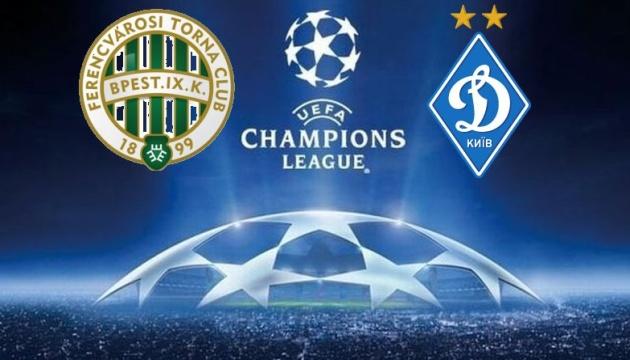 Ligue des champions : le Dynamo Kyiv fait match nul 2-2 avec Ferencvaros