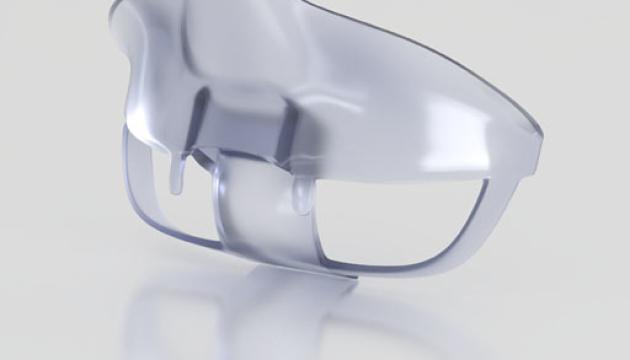 Для полегшення дихання під маскою розробили спеціальний пристрій