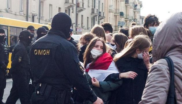 До страйку у Мінську приєдналися студенти й айтішники