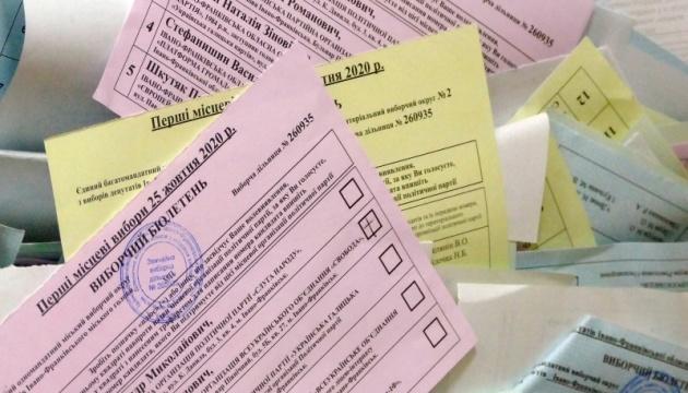 Результати виборів: ЦВК виклала дані щодо мера Чернівців та Київської облради