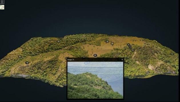 Під час створення 3D-моделі Трахтемирівського півострова знайшли оборонні споруди та печеру