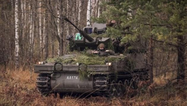 Латвія отримала від Британії 123 бронемашини