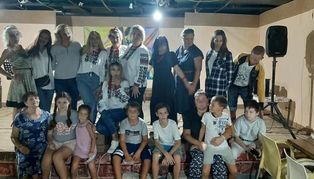 Українці Анталії провели пісенний вечір