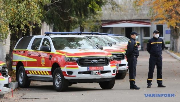 Рятувальникам передали 80 машин для ліквідації наслідків ДТП