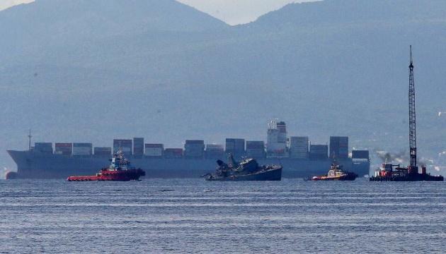Грецький військовий корабель зіткнувся з торговим судном