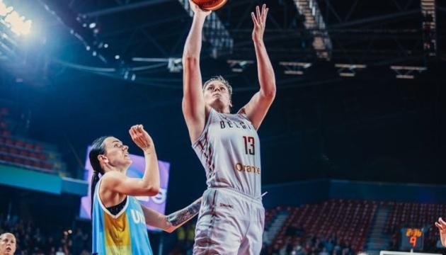 Бельгийские баскетболистки потеряли лидера перед матчем с Украиной