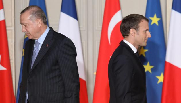 Як Макрон посварився з Ердоганом