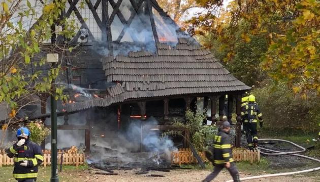 У Празі згоріла українська церква
