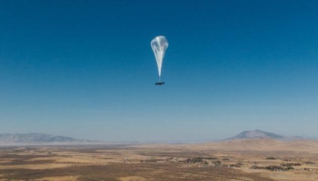 Повітряна куля Google, що роздає інтернет, встановила рекорд у стратосфері