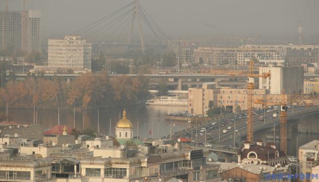 Kyjiw zweiten Tag hintereinander unter zwanzig Städten mit höchster Luftverschmutzung