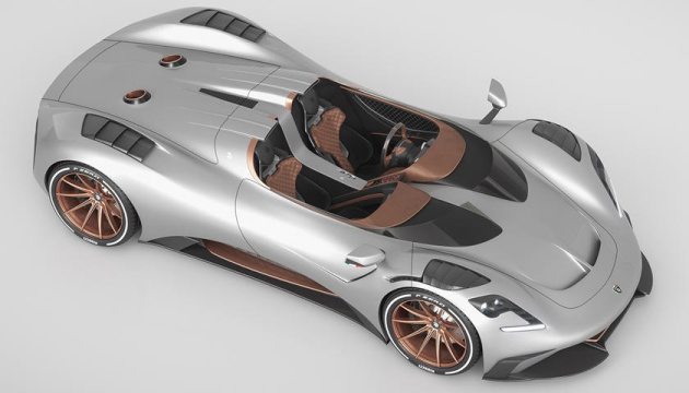 «Павучок» за $600 тисяч: в Італії представили потужний спорткар