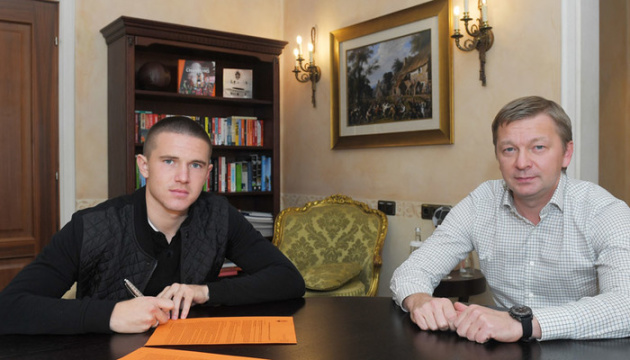 Защитник Корниенко подписал новый контракт с «Шахтером»
