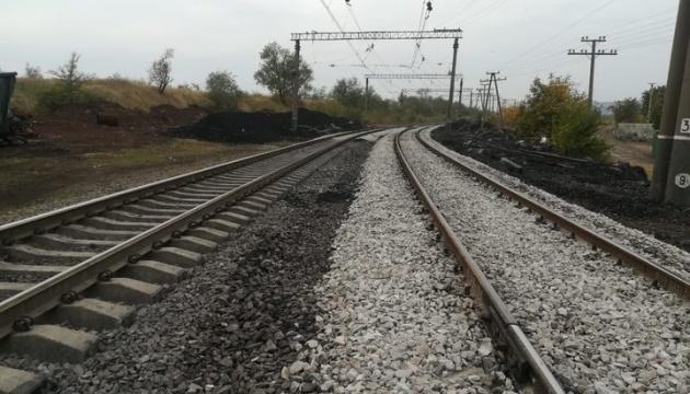 Под Кривым Рогом восстановлены пути на участке, где сошел с рельсов грузовой поезд