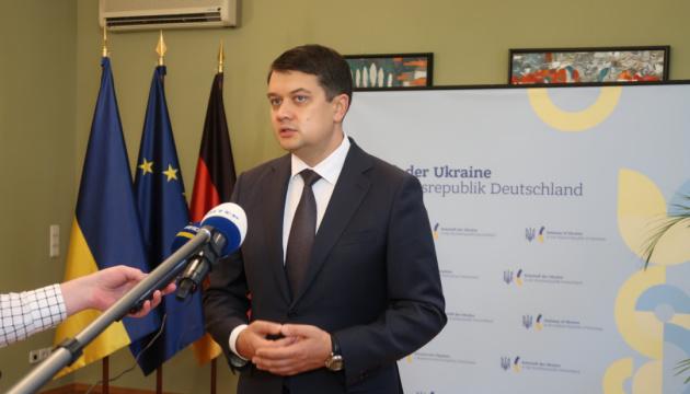 Рада не планирует рассматривать кадровые вопросы относительно министров - Разумков