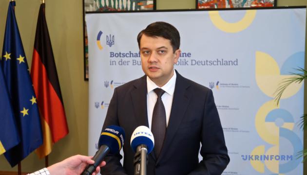 Разумков сказав, коли Рада розгляне закон про відновлення роботи НАЗК